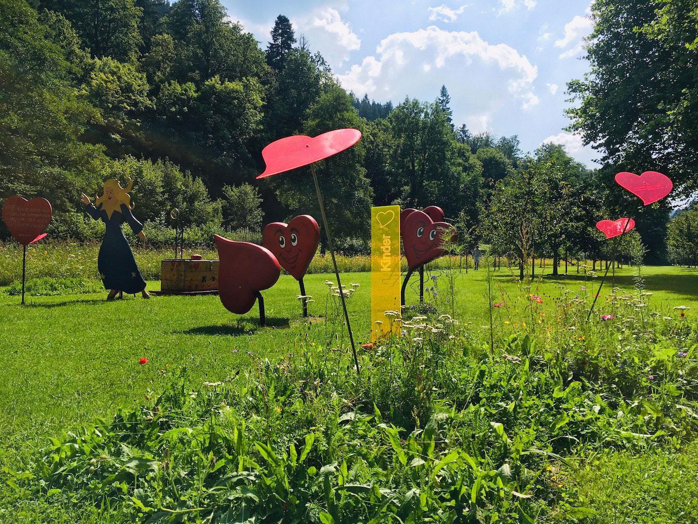 Kultursommer Nordschwarzwald - Herzface im Sophi Park